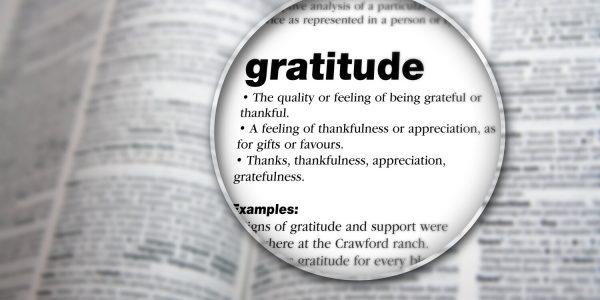 Meditatia de recunostinta - fiti recunoscatori pentru lucrurile simple