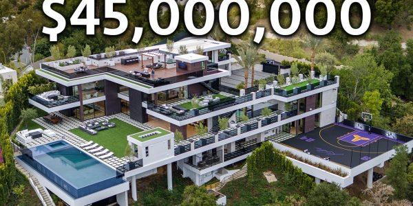 Cum arata un mansion de 45 milioane de dolari in LA